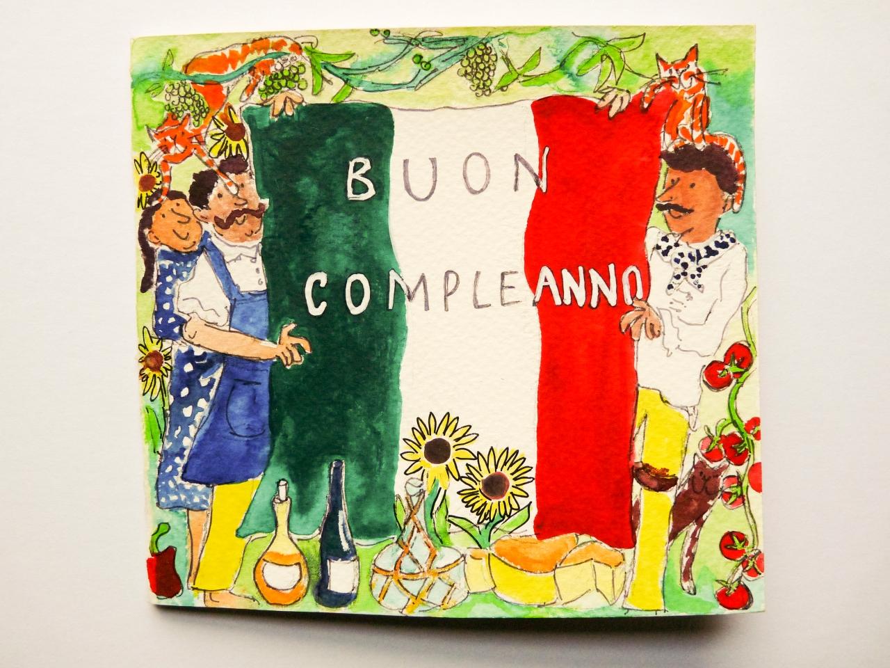 Italian Birthday Damefishy