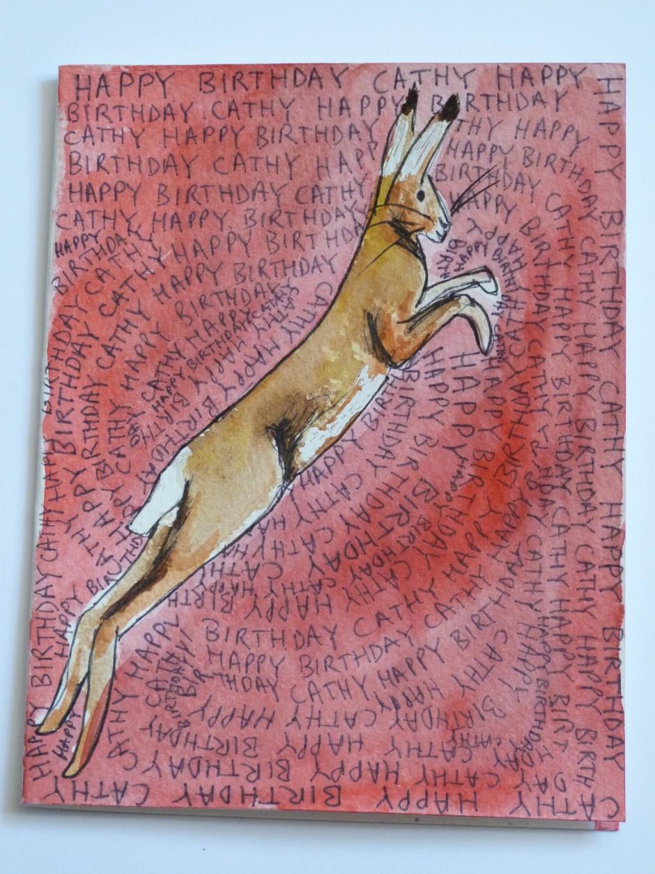 Hare Happy Birthday