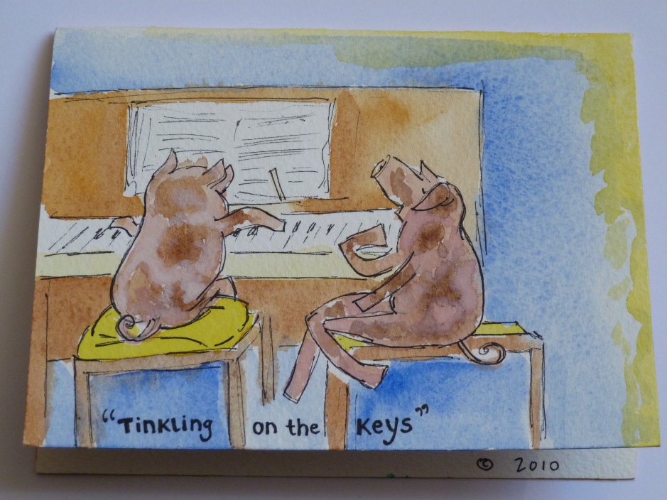 Tinkling pigs
