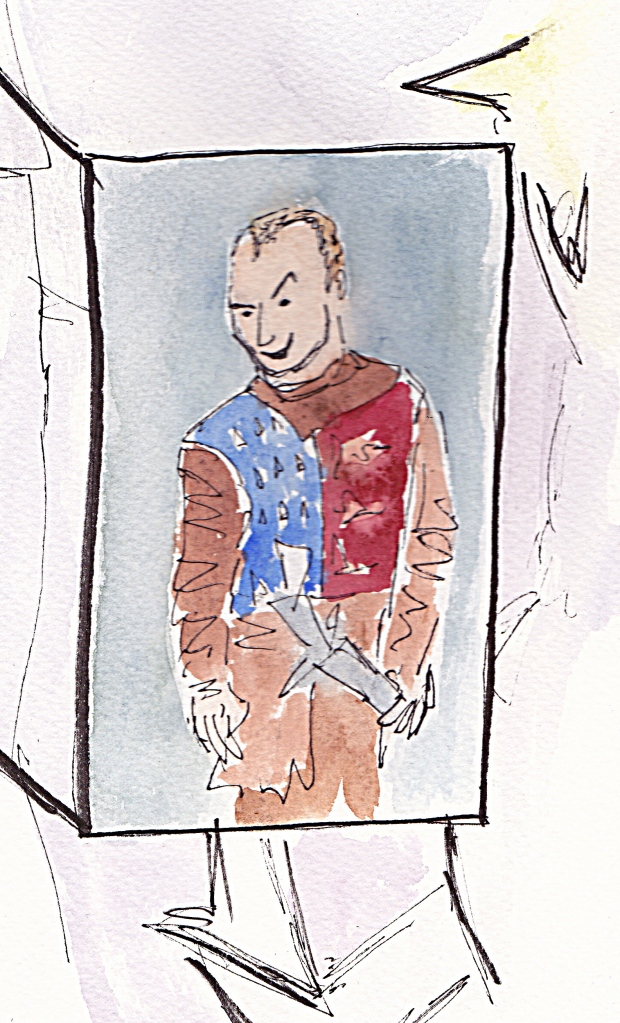 Advent day 4 Jude Law Henry V