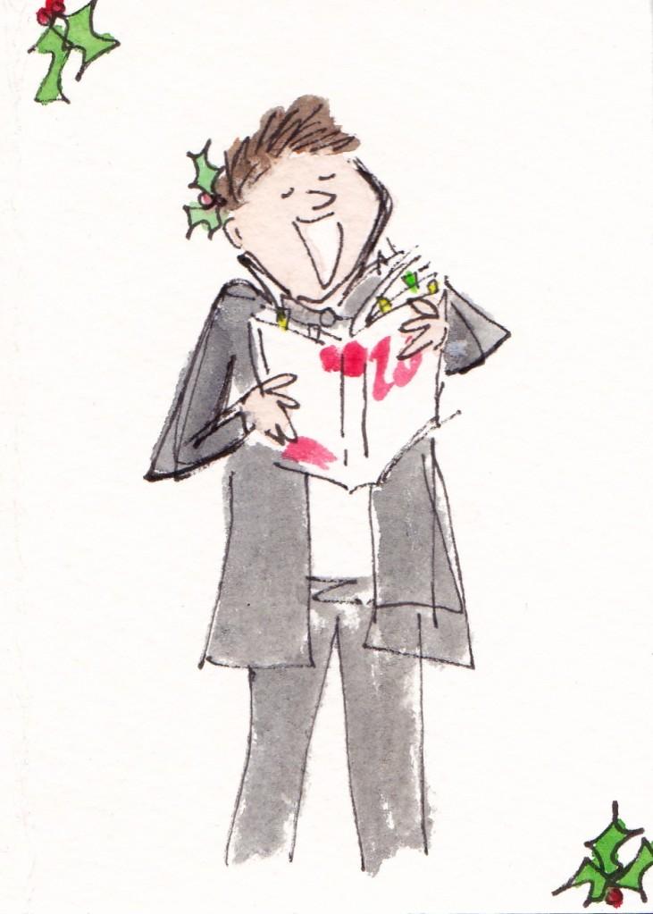 Alvin's Christmas card