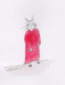 Cassocked cat